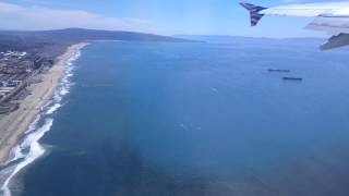Los Angeles, California - Takeoff from LAX HD (2014)