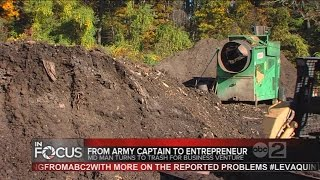 Former Army Captain runs compost farm in Maryland