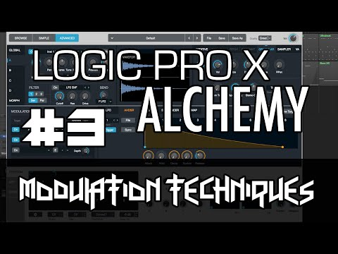 Logic Pro X – Alchemy Tutorial – PART 3 – Modulation, AHDSR, LFO, Sequencer, FX