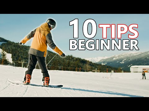10 Beginner Snowboard Tips - First Day