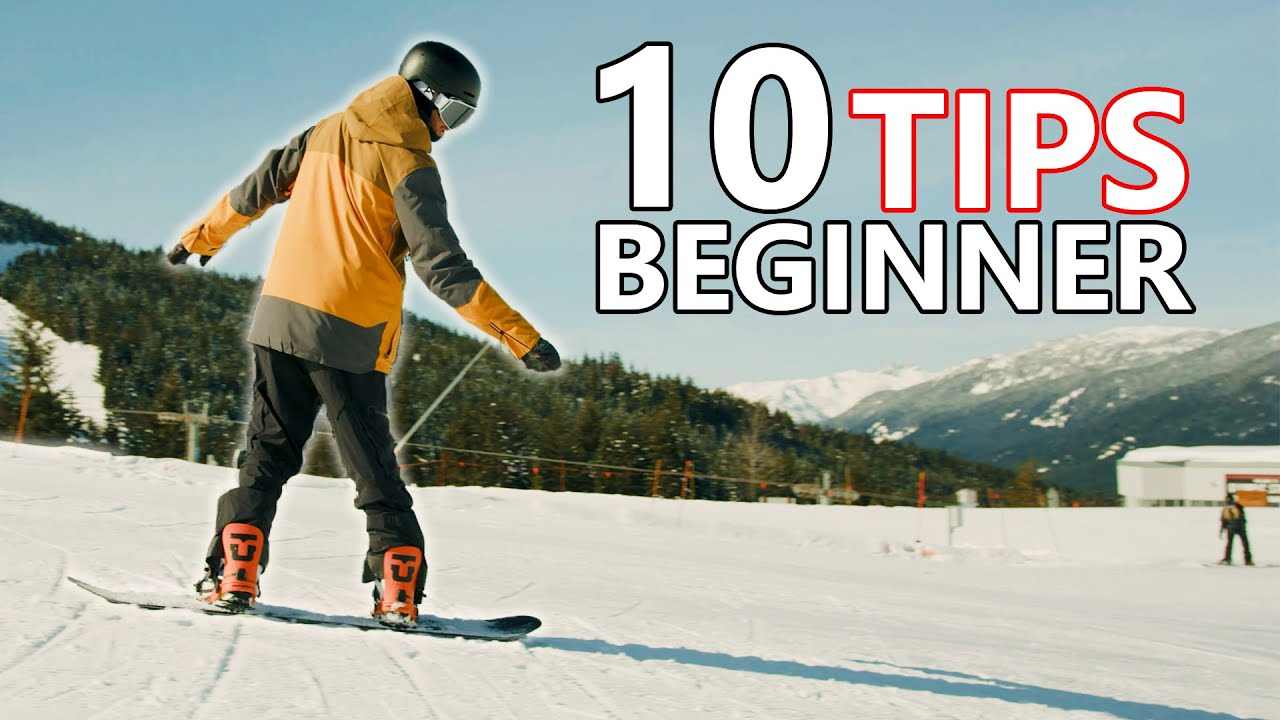 10 Beginner Snowboard Tips - First Day
