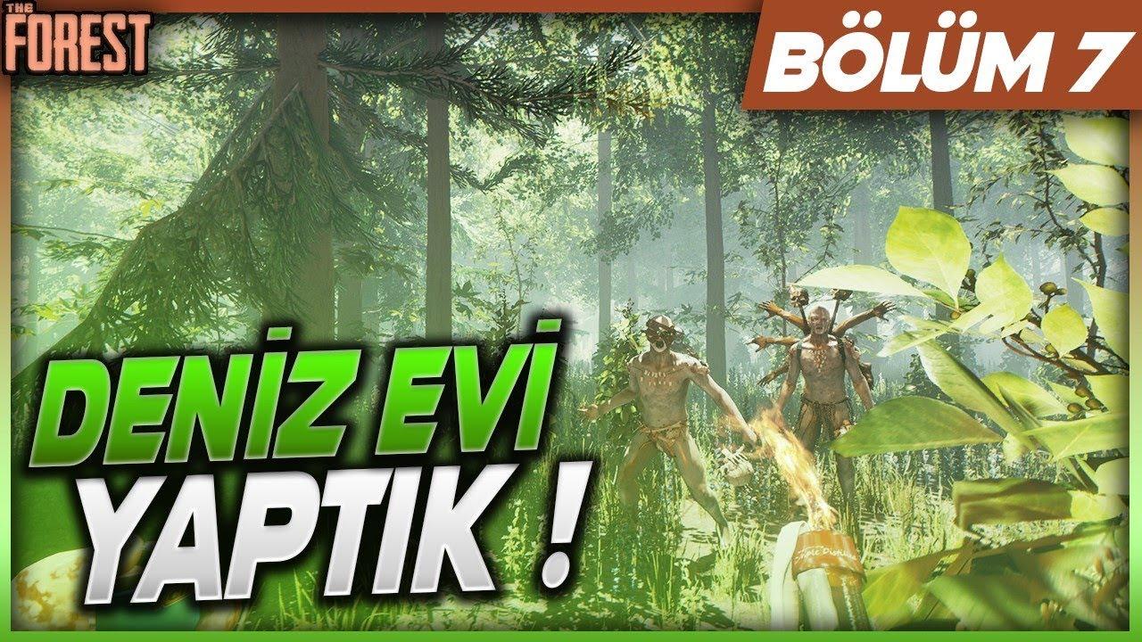 YÜZEN EV YAPTIK ! The Forest Bölüm 7