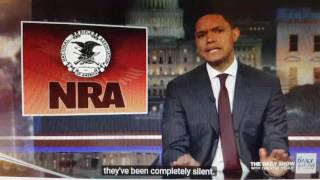 Rac!st NRA Silent on the Shooting Deaths of Black People...Trevor Noah intimates