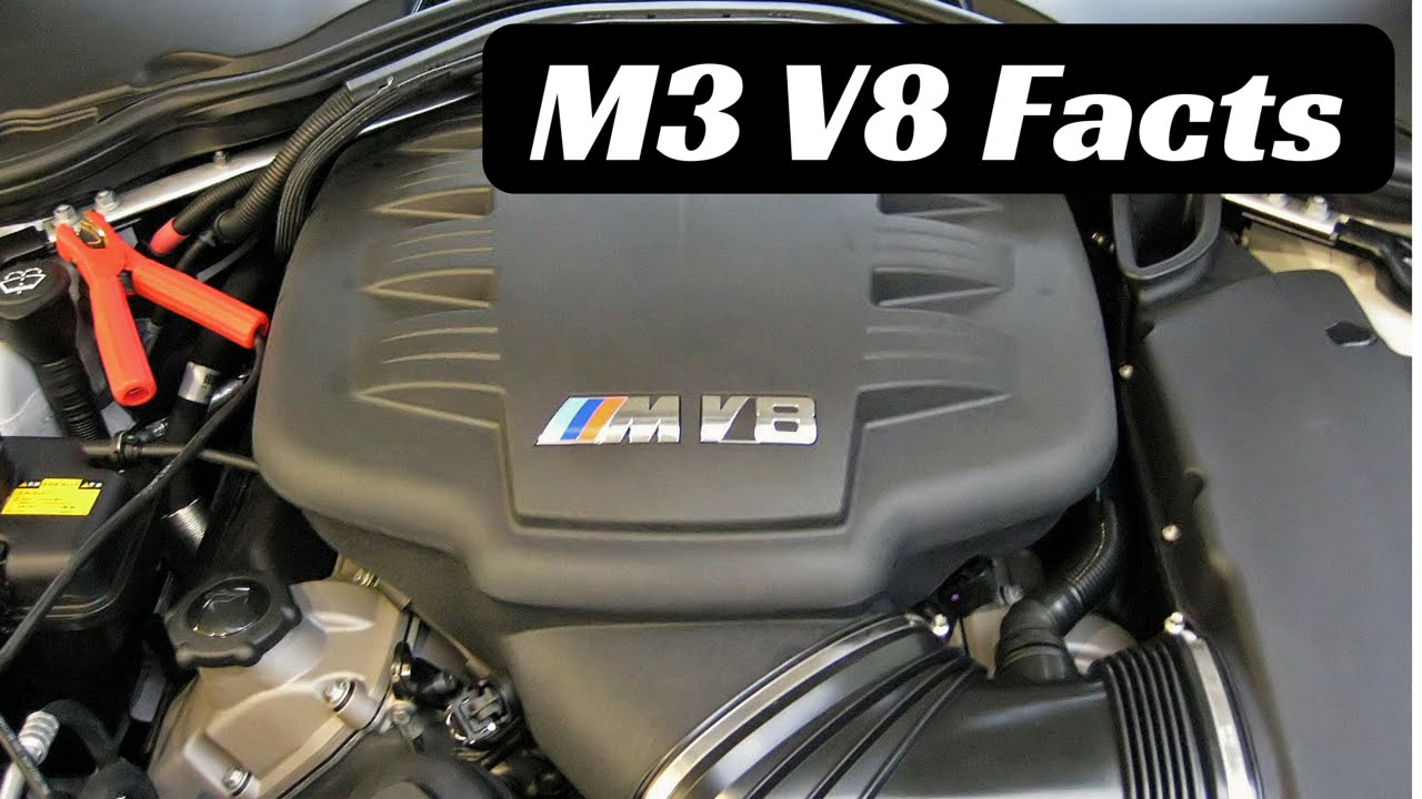 Lovely 4 BMW M3 V8 S65 Facts You Didnu0027t Know   YouTube