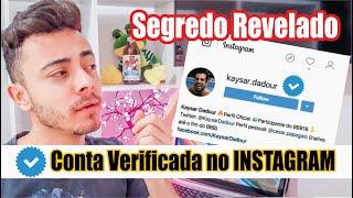 como ganhar o selo de CONTA VERIFICADA no Instagram 2019 | JOEL JUNIOR