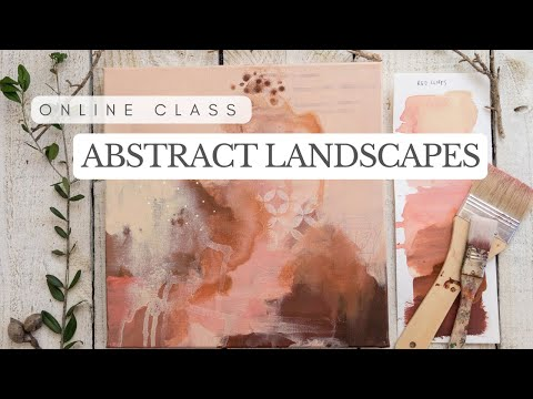Paint a Series of Abstract Landscapes with Laura Horn | Class Trailer