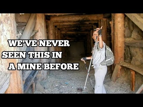 Exploring The Abandoned Mines Of Gunter Canyon - White Mountains, California