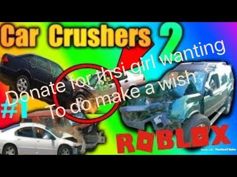 ROBLOX-CAR CRUSHER 2(ENERGY CORE ACCESS) all donations will go to charity