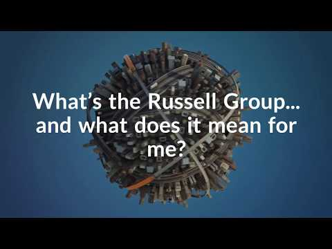 What are Russell Group universities?