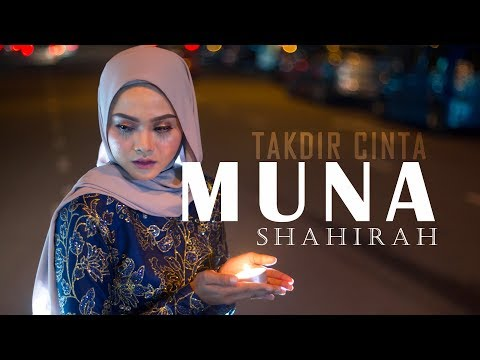 Muna Shahirah - Takdir Cinta ( Official Lyric Video )