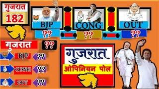 Gujarat Assembly election Opinion Poll 2022 गुजरात कौन जीतेगा - महा विश्लेषण 2022 MODI RAHUL NEWS