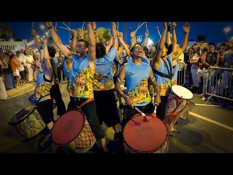 Batucada TrokoBloco - A Tope!!! - Lâcher de Percussions 2014(Saint Pierre la Mer,Francia)