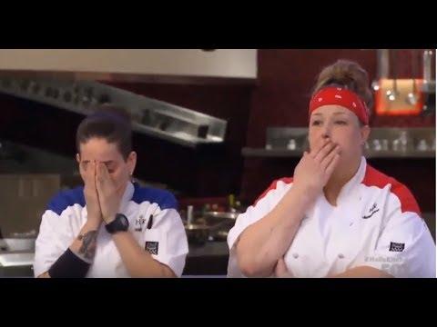 Hell S Kitchen Season 17 All Stars Elise Gets Eliminated Youtube
