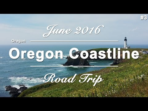 Route 101 - Part #3 - Oregon Coast | USA West Coast Roadtrip | June 2016