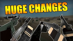 HUGE CHANGES! AWP, HK51B, Baby Vector, Big Boy Suppressors & Much More (Phantom Forces)