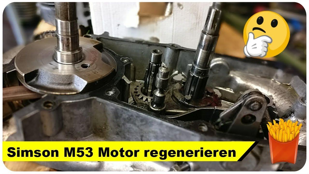 simson m53 motor regenerieren star restaurierung teil 12. Black Bedroom Furniture Sets. Home Design Ideas