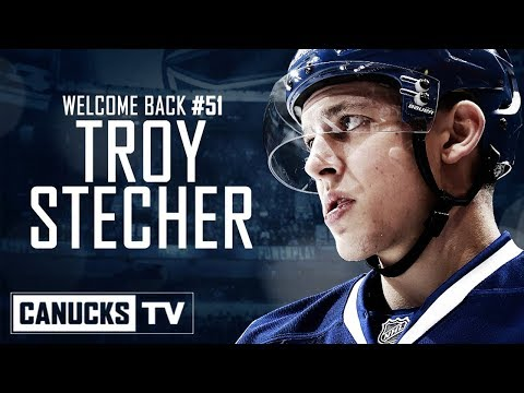 Canucks Re-Sign Troy Stecher for 2-Years (July 20, 2018)
