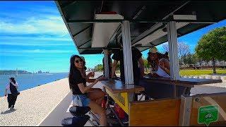 Бар на колесах с красивыми девушками.  Португалия.  Лиссабон.(, 2017-07-16T15:08:41.000Z)