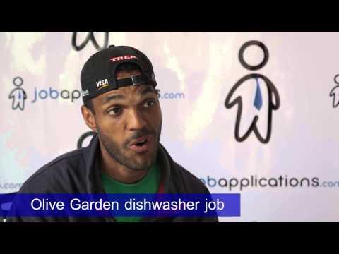 Olive Garden Interview – Dishwasher 2