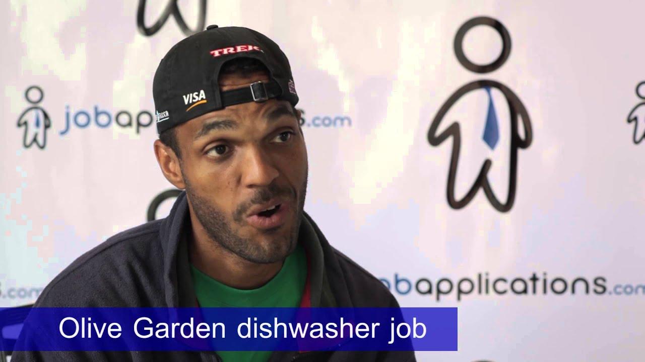 Olive Garden Interview Dishwasher 2 Youtube