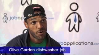 Olive Garden Interview - Dishwasher 2