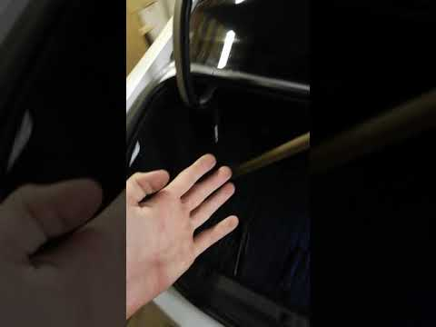 Установка пружины в багажник. Веста