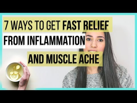 Foods and Natural Treatments to cope with Inflammation