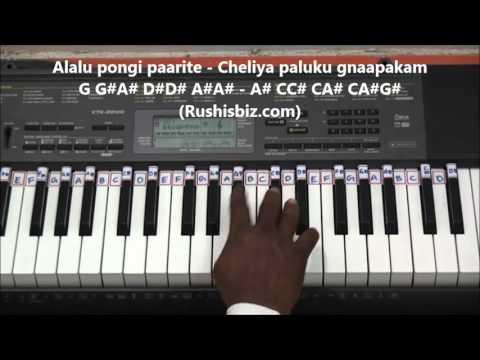 Na Cheli Rojave Piano Tutorials - Roja Movie (Telugu)