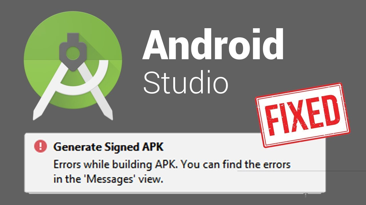 Errors while building APK Generate Signed 'Lint found fatal errors' Android Studio (FIXED)  #Smartphone #Android