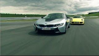 BMW i8 vs. Porsche 911 4S  - Reif für die Rennstrecke?