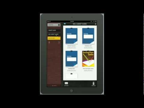PDF Annotating with PDF Cabinet by Motech LTD: iPad App Review