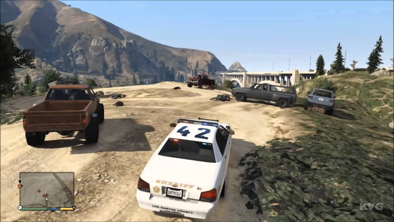 Bobcat Car Wallpaper Grand Theft Auto 5 Sheriff Car Driving Gameplay Hd