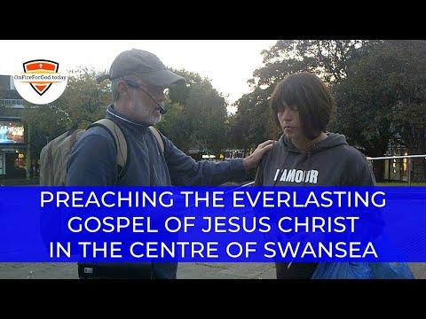 UK Street Preaching: City Centre, Swansea, Wales