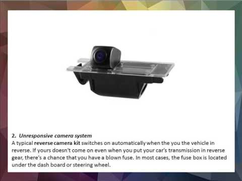 Quick fixes for common reversing camera problems - YouTube