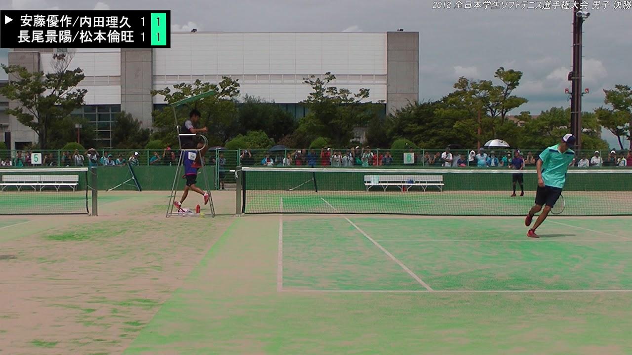 インカレ ソフトテニス
