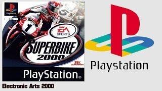 Superbike 2000 (PS1)(2000) Intro + Gameplay (HD)