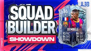 Fifa 21 Squad Builder Showdown!!! FUT FREEZE STRIKER DEMBELE!!!