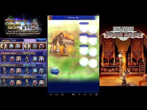 Final Fantasy Record Keeper - Multiplayer Apocalypse+ Adamanchelid