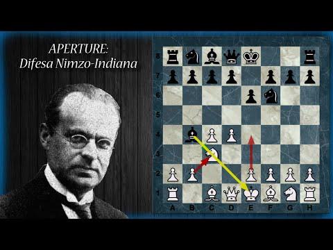 Aperture di Scacchi 23 - Difesa Nimzo-Indiana - v. Rubinstein, Kasparov e Capablanca