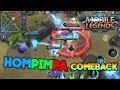 HOMPIMPA BISA COMEBACK? - Mobile Legends Indonesia #16
