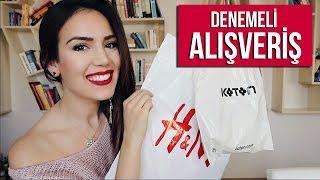 DENEMELİ ALIŞVERİŞ ~ H&M, TRENDYOL, KOTON, DOLAP