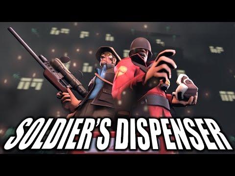 Soldier's Dispenser Collab