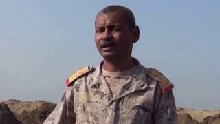 شاهد عملية استخراج الالغام التي زرعتها مليشيا الحوثي في منطقة ميدي