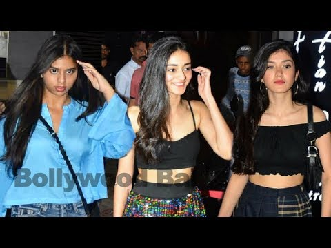 Ananya Pandey BIRTHDAY Party  With Bff Suhana Khan, Shanaya Kapoor Mp3