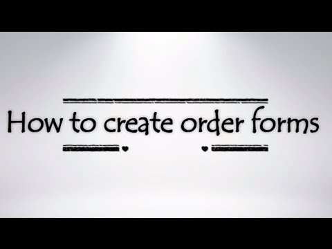 Shopify: How to create quick order form on your website