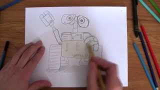 How To Draw: Wall-E