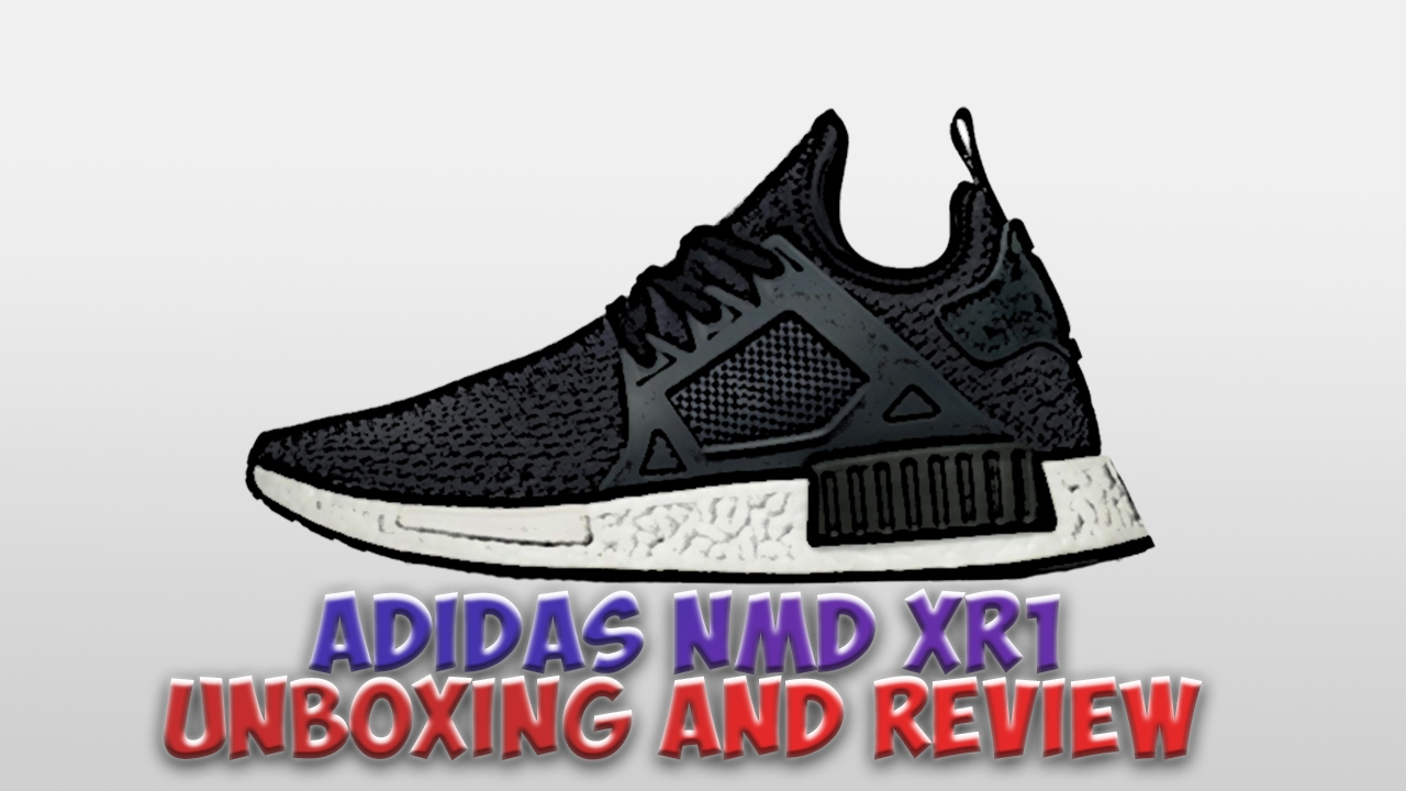 a12e3e5100f Adidas Nmd xr1  Jd Sports  Unboxing and review - YouTube