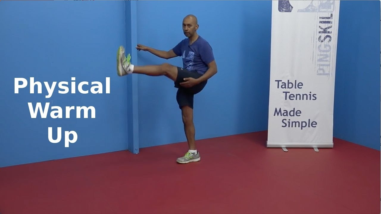 Physical Warm Up | Table Tennis | PingSkills