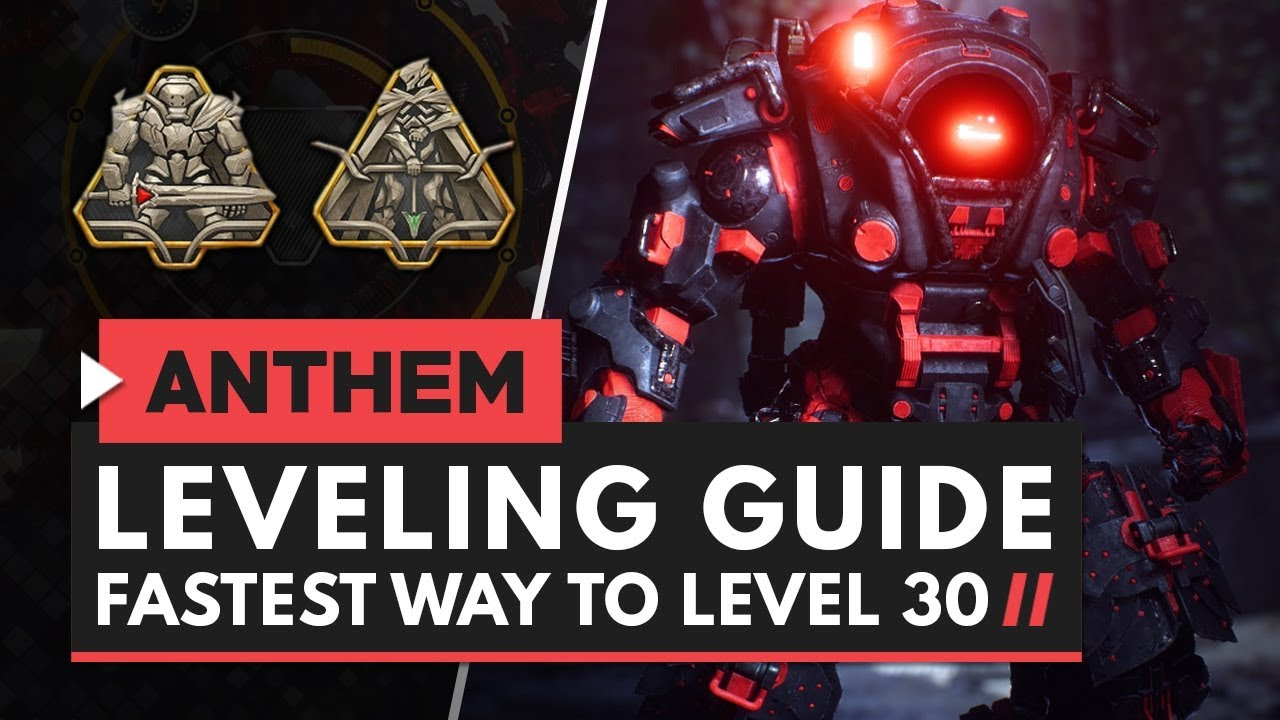 How To Farm XP Easily And Level Up Fast In Anthem