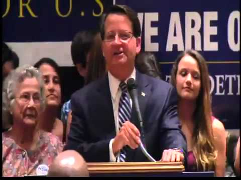 Gary Peters acceptance speech